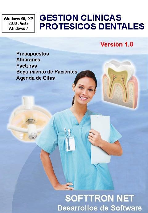 Programa gestion protesicos dentales